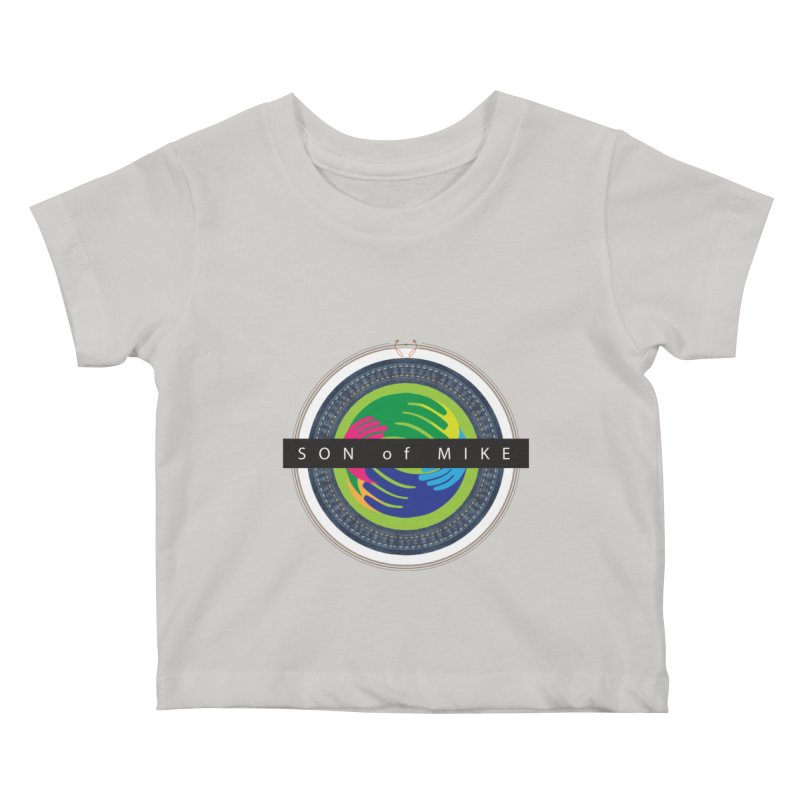 """SON OF MIKE """"Holy Circle"""" Kids Baby T-Shirt by Turkeylegsray's Artist Shop"""