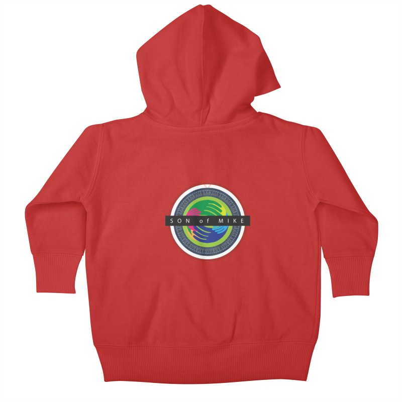 """SON OF MIKE """"Holy Circle"""" Kids Baby Zip-Up Hoody by Turkeylegsray's Artist Shop"""