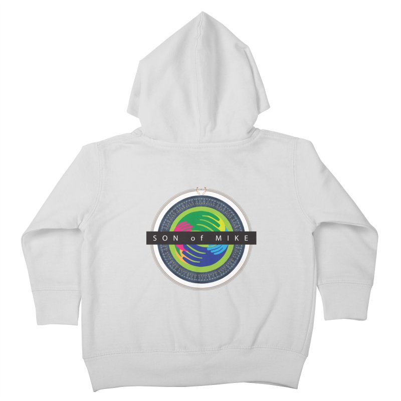 """SON OF MIKE """"Holy Circle"""" Kids Toddler Zip-Up Hoody by Turkeylegsray's Artist Shop"""