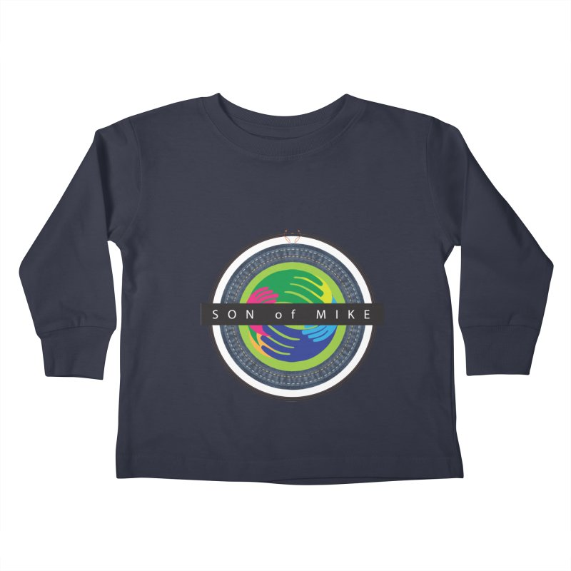 """SON OF MIKE """"Holy Circle"""" Kids Toddler Longsleeve T-Shirt by Turkeylegsray's Artist Shop"""