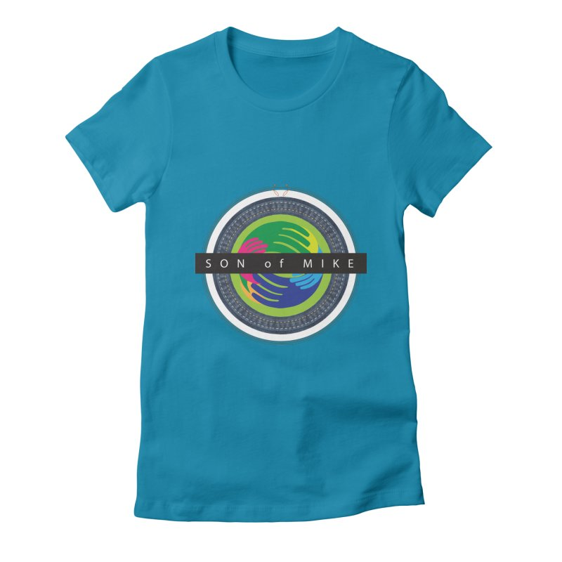 """SON OF MIKE """"Holy Circle"""" Women's Fitted T-Shirt by Turkeylegsray's Artist Shop"""