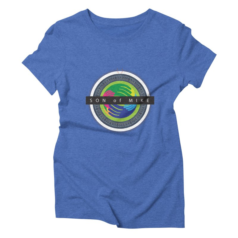 """SON OF MIKE """"Holy Circle"""" Women's Triblend T-shirt by Turkeylegsray's Artist Shop"""