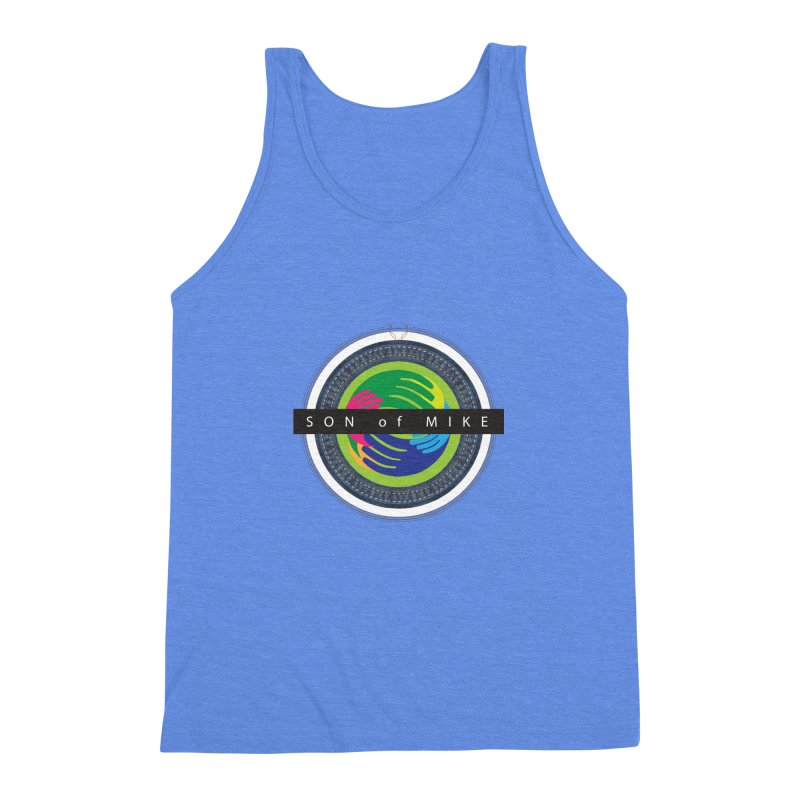 """SON OF MIKE """"Holy Circle"""" Men's Triblend Tank by Turkeylegsray's Artist Shop"""