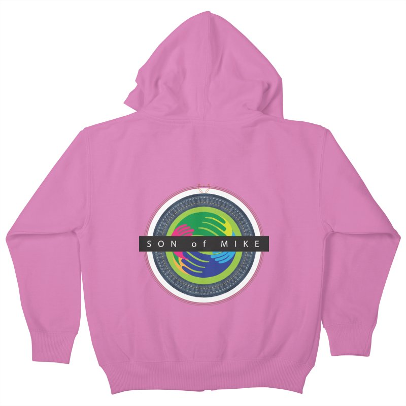 "SON OF MIKE ""Holy Circle"" Kids Zip-Up Hoody by Turkeylegsray's Artist Shop"