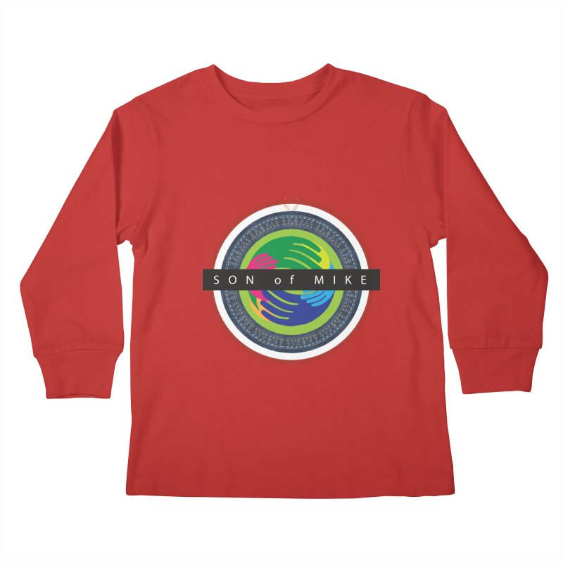 "SON OF MIKE ""Holy Circle"" Kids Longsleeve T-Shirt by Turkeylegsray's Artist Shop"
