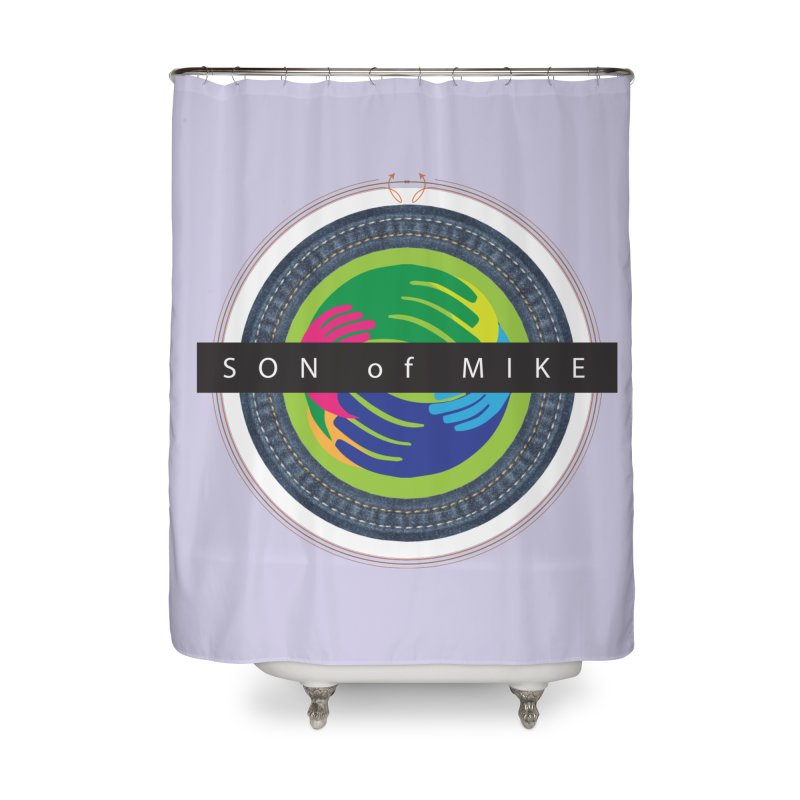 """SON OF MIKE """"Holy Circle"""" Home Shower Curtain by Turkeylegsray's Artist Shop"""