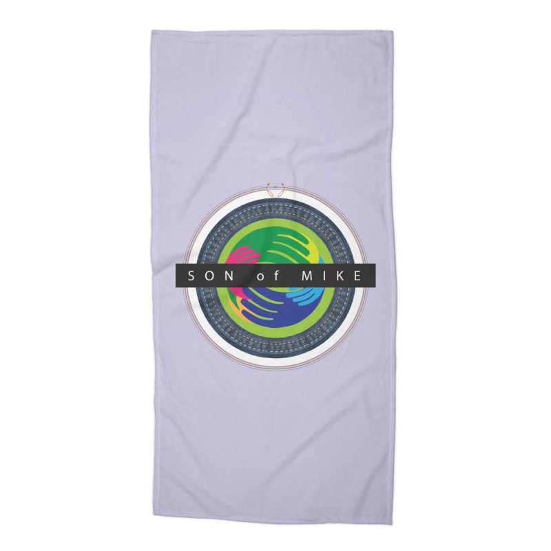 "SON OF MIKE ""Holy Circle"" Accessories Beach Towel by Turkeylegsray's Artist Shop"