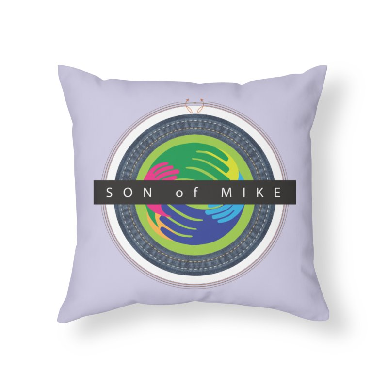 """SON OF MIKE """"Holy Circle"""" Home Throw Pillow by Turkeylegsray's Artist Shop"""
