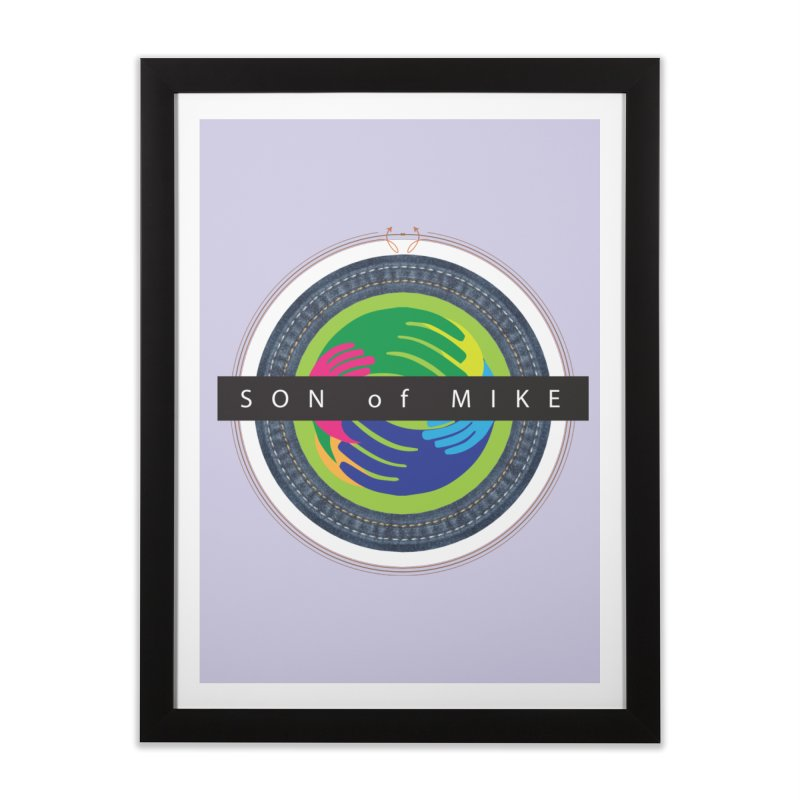 "SON OF MIKE ""Holy Circle"" Home Framed Fine Art Print by Turkeylegsray's Artist Shop"