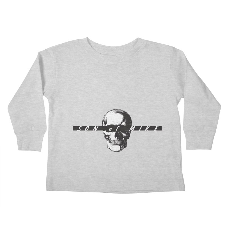 "SON OF MIKE ""Blind Skull"" Kids Toddler Longsleeve T-Shirt by Turkeylegsray's Artist Shop"