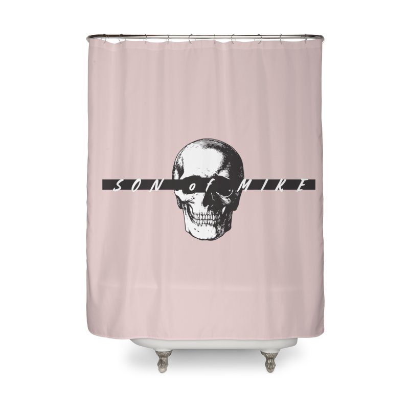 """SON OF MIKE """"Blind Skull"""" Home Shower Curtain by Turkeylegsray's Artist Shop"""