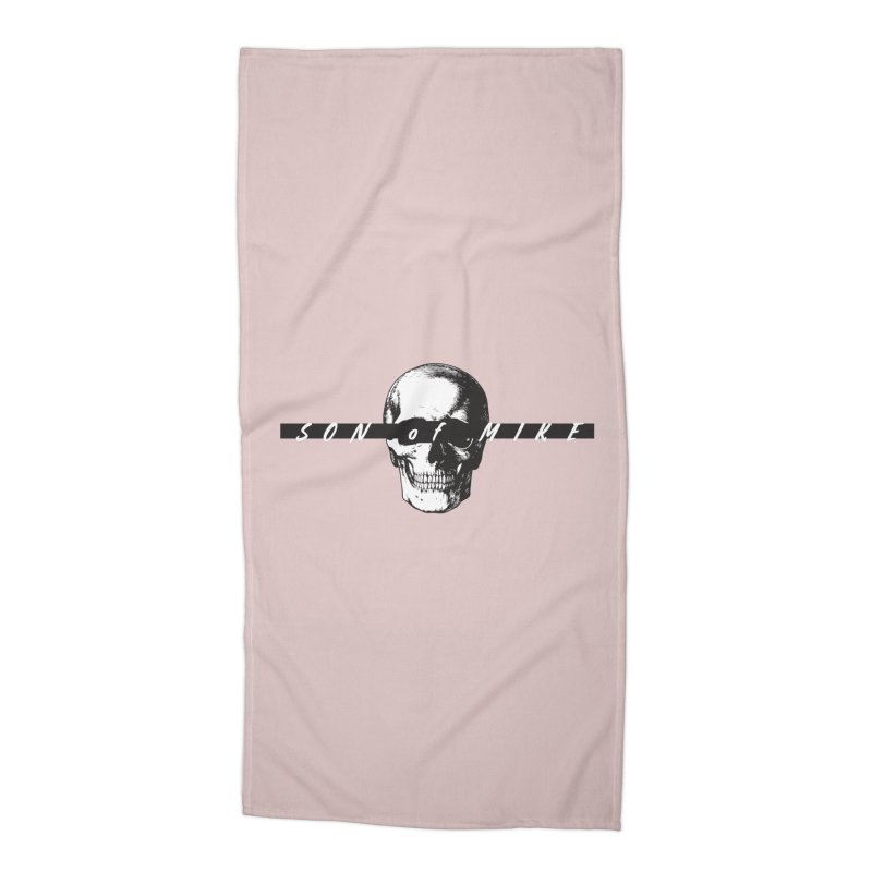 "SON OF MIKE ""Blind Skull"" Accessories Beach Towel by Turkeylegsray's Artist Shop"