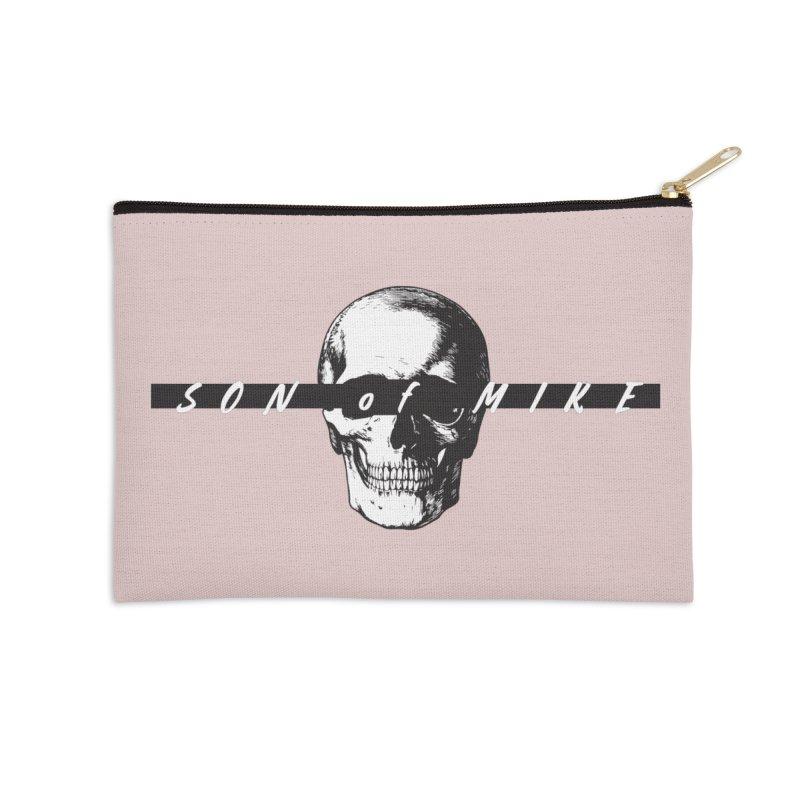 "SON OF MIKE ""Blind Skull"" Accessories Zip Pouch by Turkeylegsray's Artist Shop"