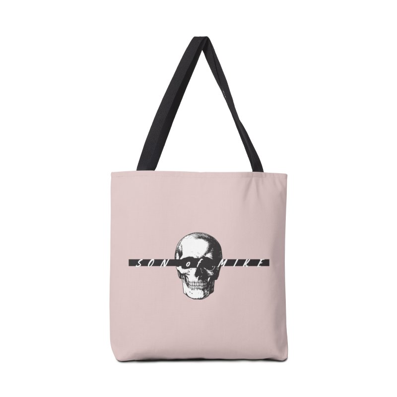 "SON OF MIKE ""Blind Skull"" Accessories Bag by Turkeylegsray's Artist Shop"