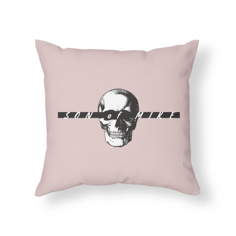 """SON OF MIKE """"Blind Skull"""" Home Throw Pillow by Turkeylegsray's Artist Shop"""