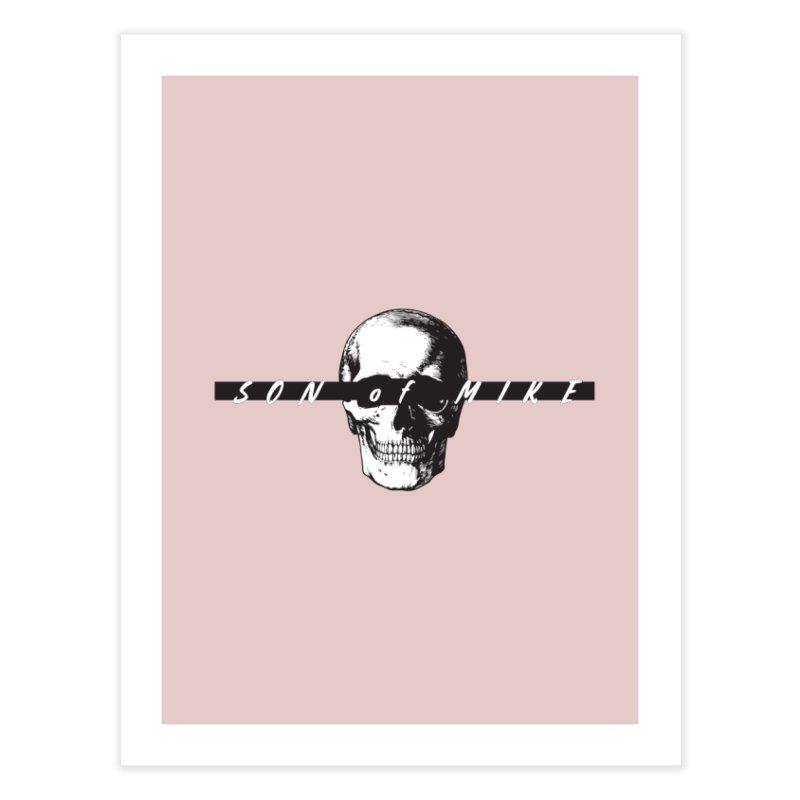"SON OF MIKE ""Blind Skull"" Home Fine Art Print by Turkeylegsray's Artist Shop"