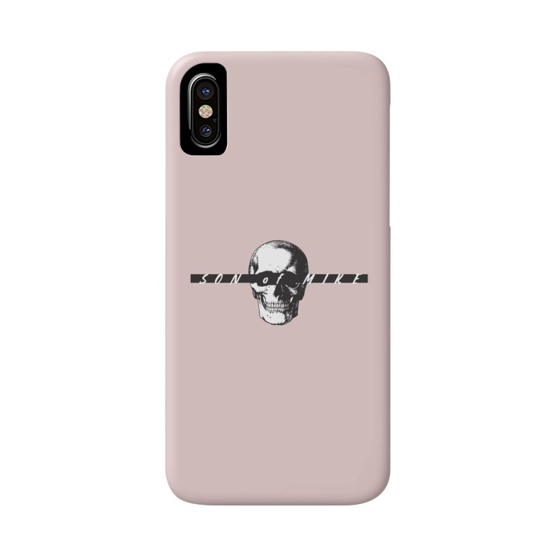 """SON OF MIKE """"Blind Skull"""" Accessories Phone Case by Turkeylegsray's Artist Shop"""