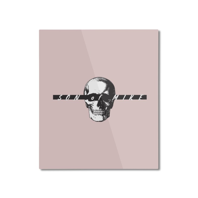 """SON OF MIKE """"Blind Skull"""" Home Mounted Aluminum Print by Turkeylegsray's Artist Shop"""