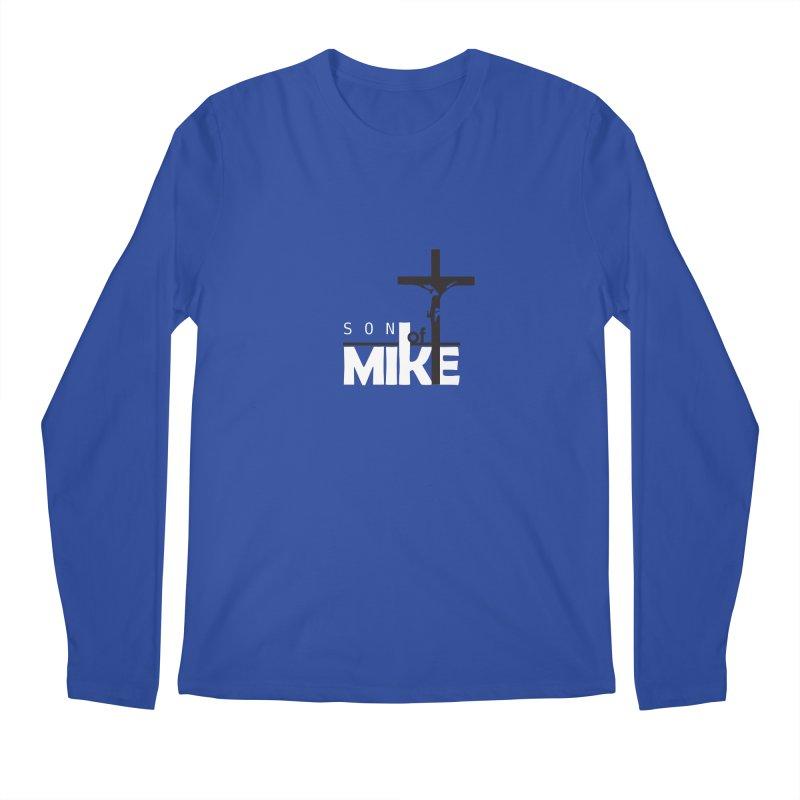 """SON OF MIKE """"Cross"""" Men's Longsleeve T-Shirt by Turkeylegsray's Artist Shop"""