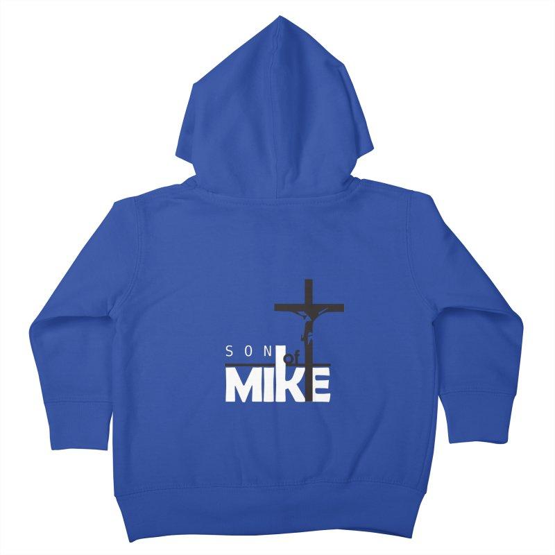 "SON OF MIKE ""Cross"" Kids Toddler Zip-Up Hoody by Turkeylegsray's Artist Shop"