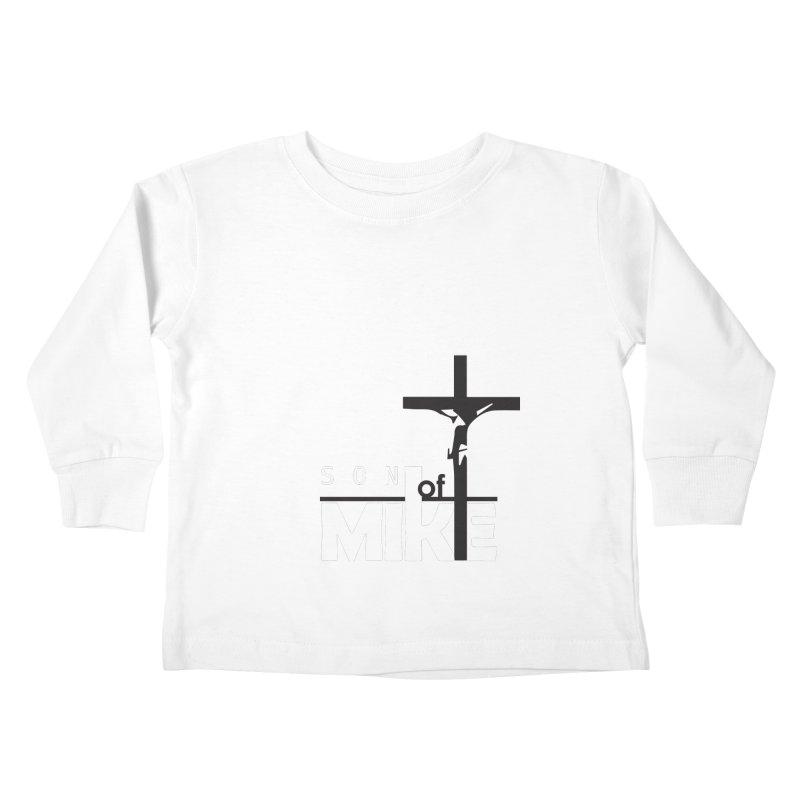 "SON OF MIKE ""Cross"" Kids Toddler Longsleeve T-Shirt by Turkeylegsray's Artist Shop"