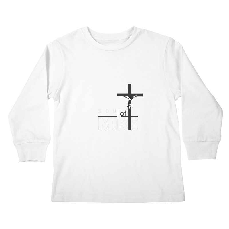 "SON OF MIKE ""Cross"" Kids Longsleeve T-Shirt by Turkeylegsray's Artist Shop"