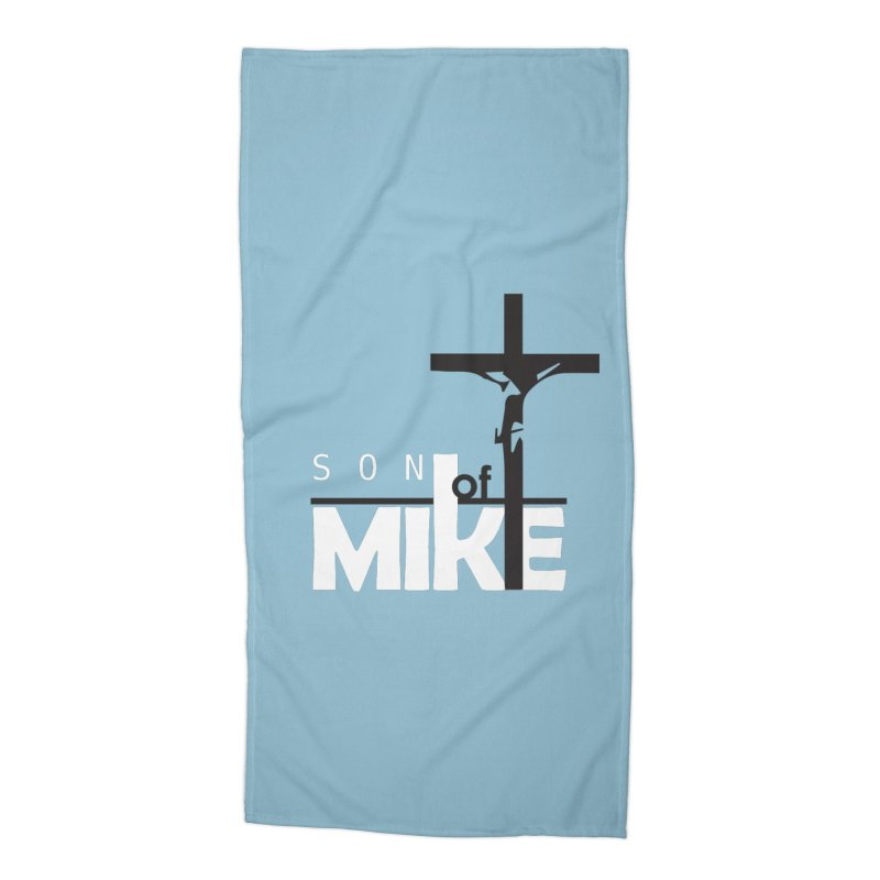 "SON OF MIKE ""Cross"" Accessories Beach Towel by Turkeylegsray's Artist Shop"