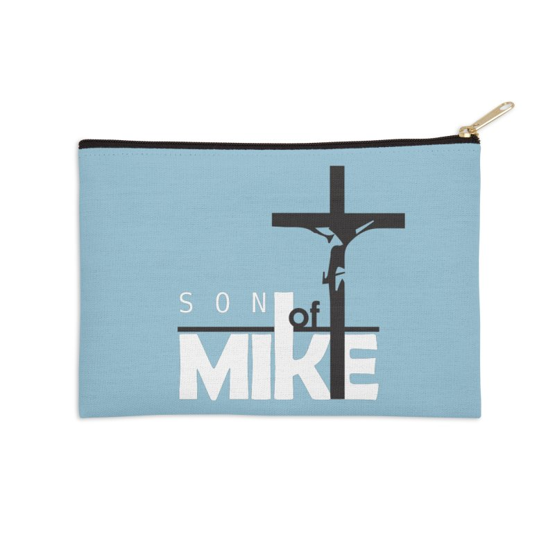 "SON OF MIKE ""Cross"" Accessories Zip Pouch by Turkeylegsray's Artist Shop"