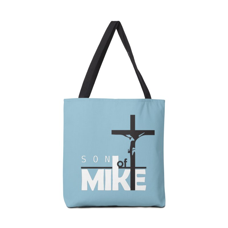 "SON OF MIKE ""Cross"" Accessories Bag by Turkeylegsray's Artist Shop"
