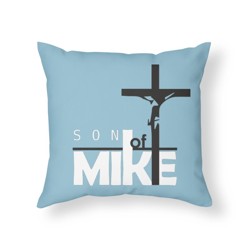 """SON OF MIKE """"Cross"""" Home Throw Pillow by Turkeylegsray's Artist Shop"""