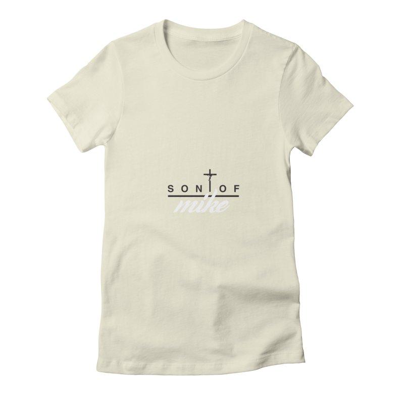 "SON OF MIKE ""Cross II"" Women's Fitted T-Shirt by Turkeylegsray's Artist Shop"