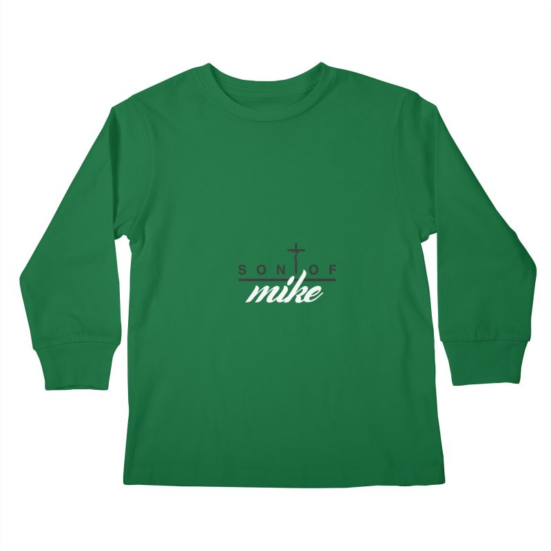 "SON OF MIKE ""Cross II"" Kids Longsleeve T-Shirt by Turkeylegsray's Artist Shop"