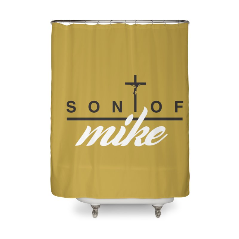 """SON OF MIKE """"Cross II"""" Home Shower Curtain by Turkeylegsray's Artist Shop"""