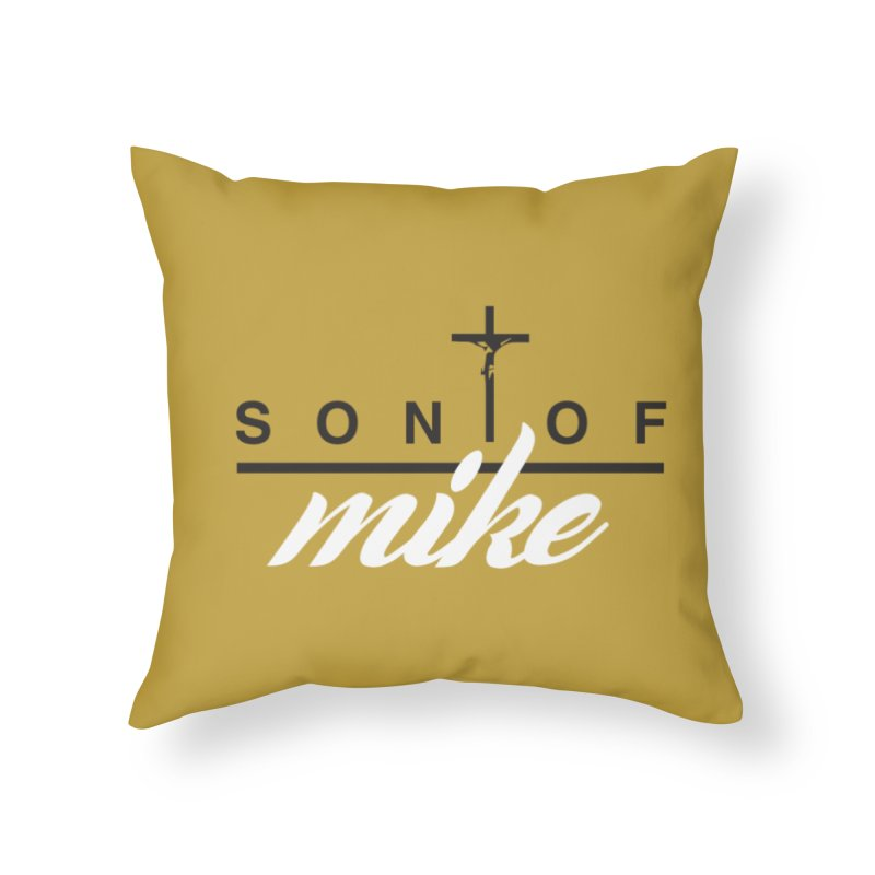 """SON OF MIKE """"Cross II"""" Home Throw Pillow by Turkeylegsray's Artist Shop"""