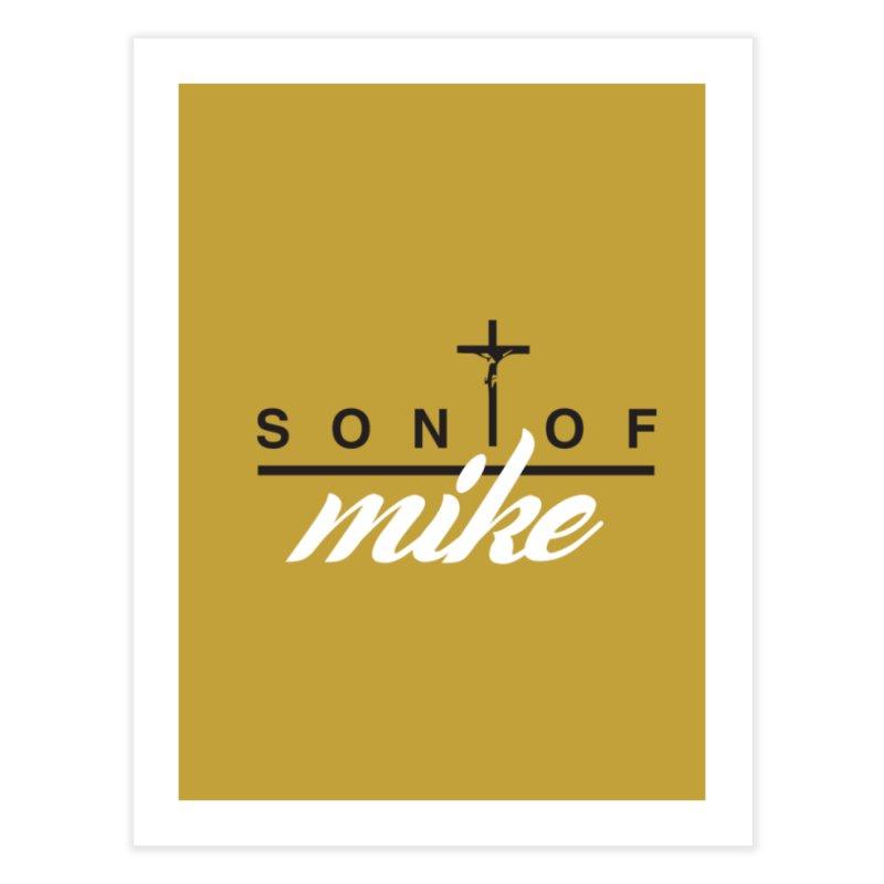 """SON OF MIKE """"Cross II"""" Home Fine Art Print by Turkeylegsray's Artist Shop"""