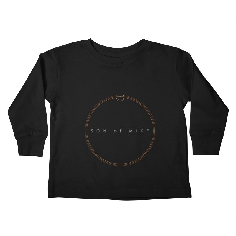"SON OF MIKE ""Circle Arrow"" Kids Toddler Longsleeve T-Shirt by Turkeylegsray's Artist Shop"