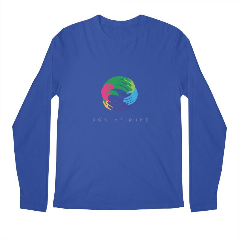 "SON OF MIKE ""Hands"" Men's Longsleeve T-Shirt by Turkeylegsray's Artist Shop"