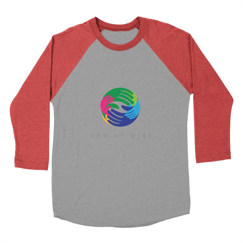 "SON OF MIKE ""Hands"" Men's Baseball Triblend T-Shirt by Turkeylegsray's Artist Shop"