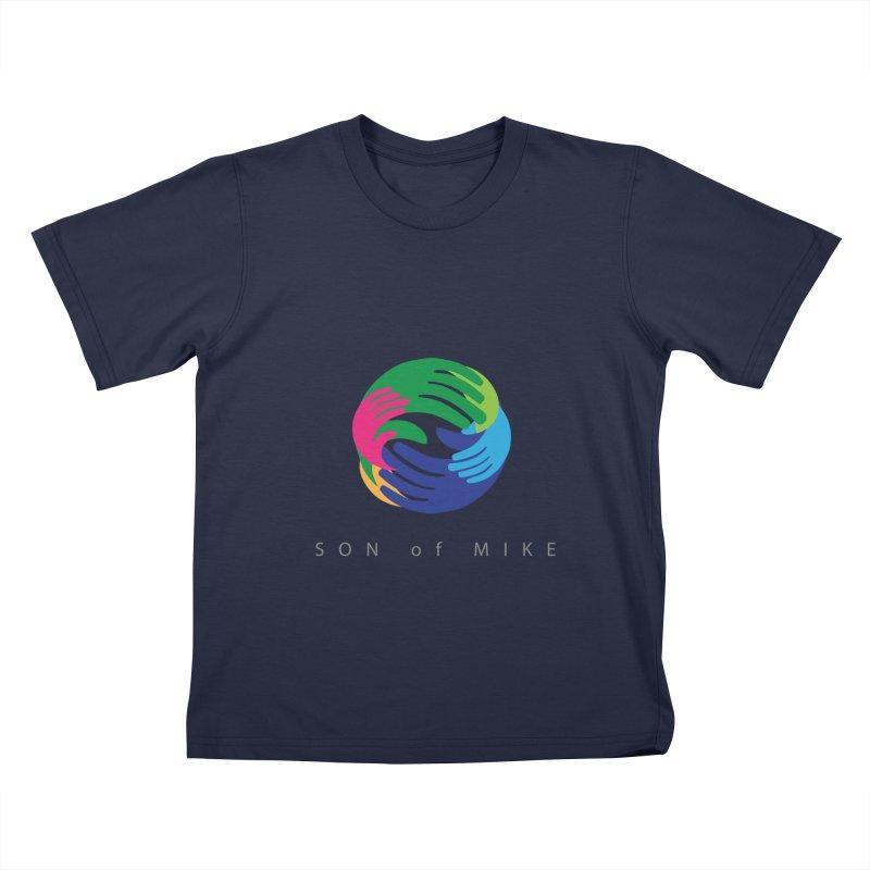 "SON OF MIKE ""Hands"" Kids T-Shirt by Turkeylegsray's Artist Shop"