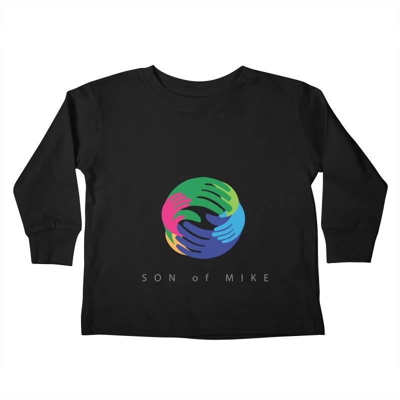 "SON OF MIKE ""Hands"" Kids Toddler Longsleeve T-Shirt by Turkeylegsray's Artist Shop"