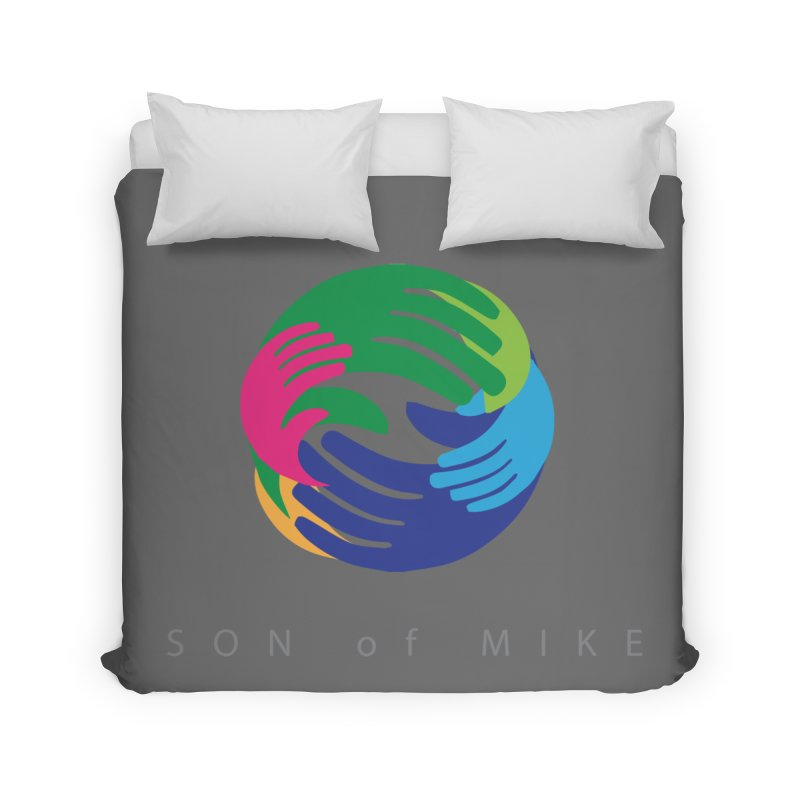 """SON OF MIKE """"Hands"""" Home Duvet by Turkeylegsray's Artist Shop"""