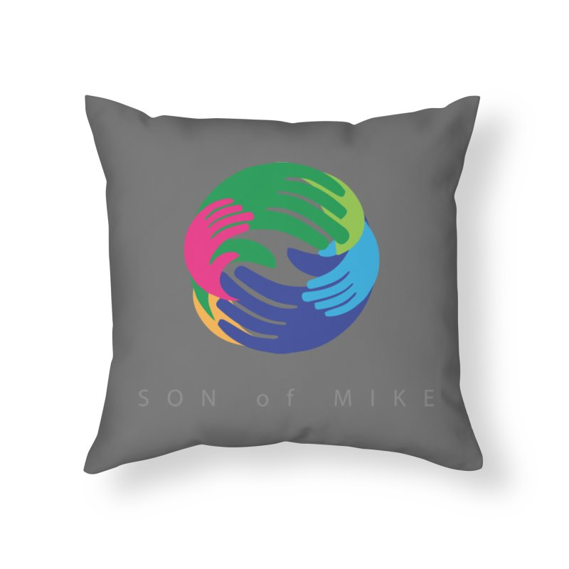 """SON OF MIKE """"Hands"""" Home Throw Pillow by Turkeylegsray's Artist Shop"""