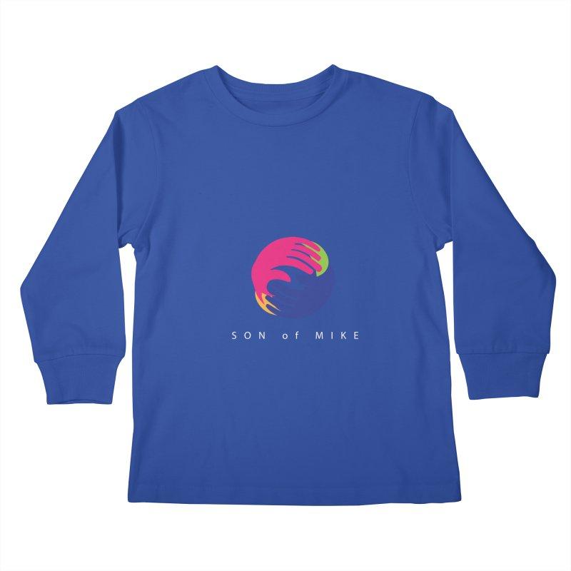 """SON OF MIKE """"Hands II"""" Kids Longsleeve T-Shirt by Turkeylegsray's Artist Shop"""