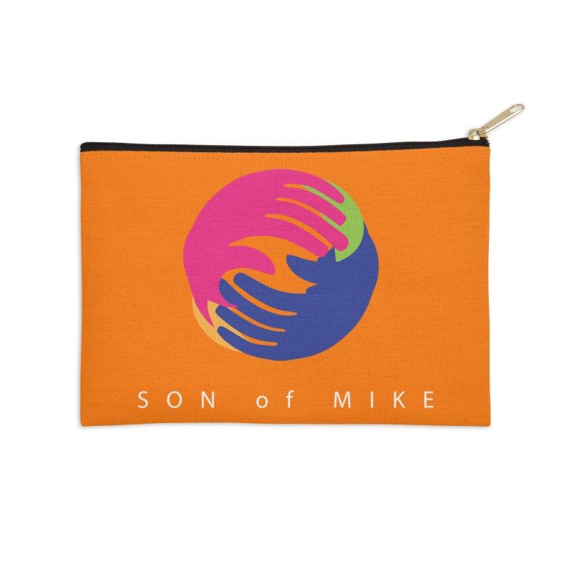 "SON OF MIKE ""Hands II"" Accessories Zip Pouch by Turkeylegsray's Artist Shop"