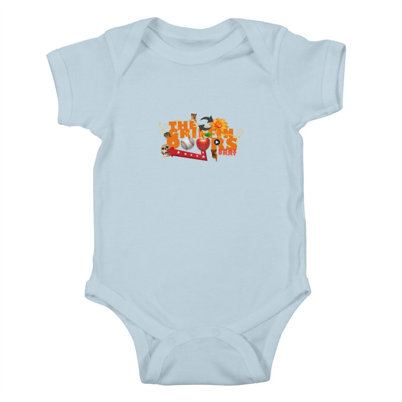 "THE GRIFFINDOORS ""Hobbies"" Kids Baby Bodysuit by Turkeylegsray's Artist Shop"