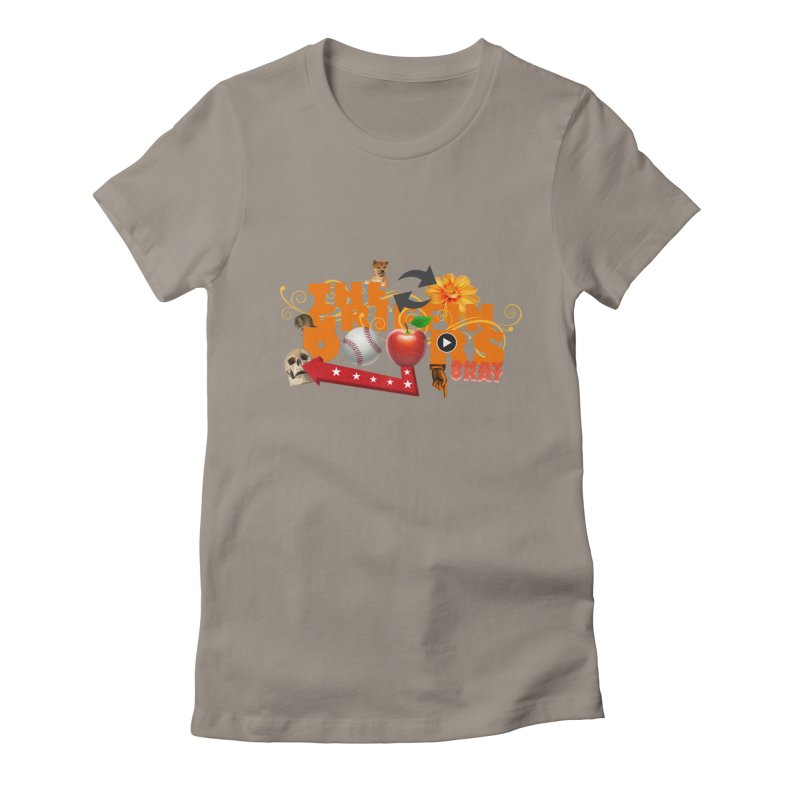 """THE GRIFFINDOORS """"Hobbies"""" Women's Fitted T-Shirt by Turkeylegsray's Artist Shop"""