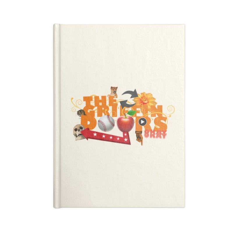 "THE GRIFFINDOORS ""Hobbies"" Accessories Notebook by Turkeylegsray's Artist Shop"