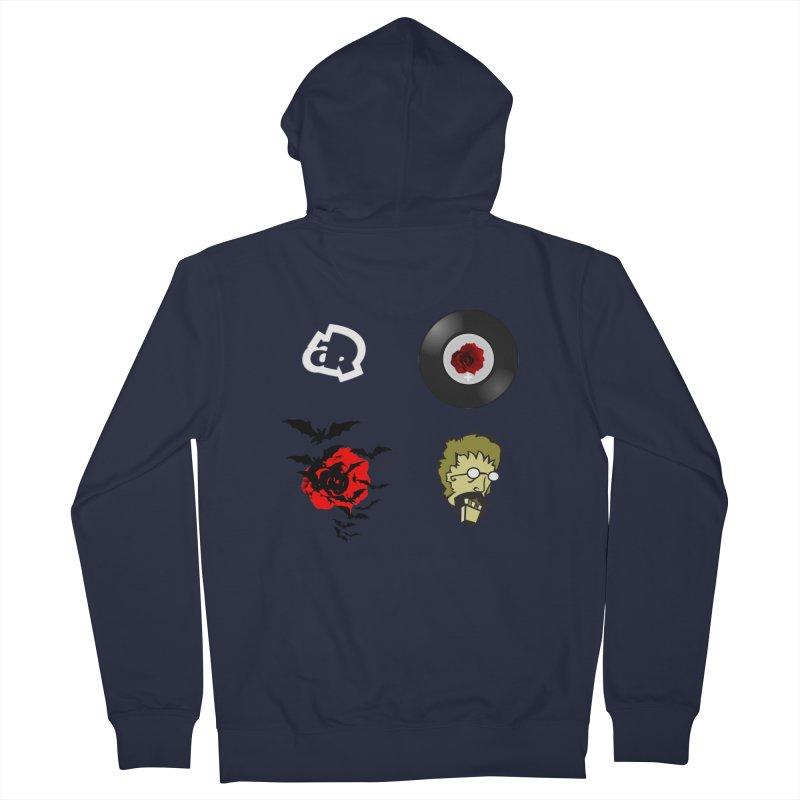4 Logo Men's Zip-Up Hoody by Turkeylegsray's Artist Shop