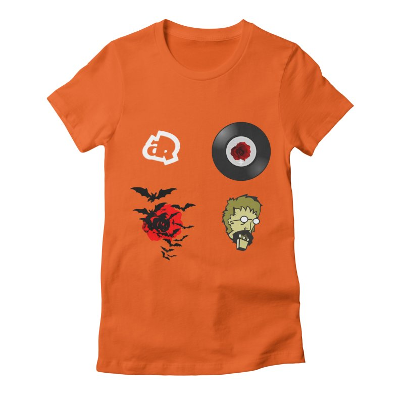4 Logo Women's Fitted T-Shirt by Turkeylegsray's Artist Shop