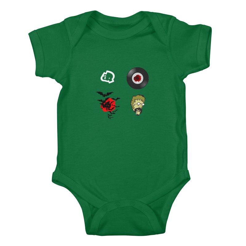 4 Logo Kids Baby Bodysuit by Turkeylegsray's Artist Shop